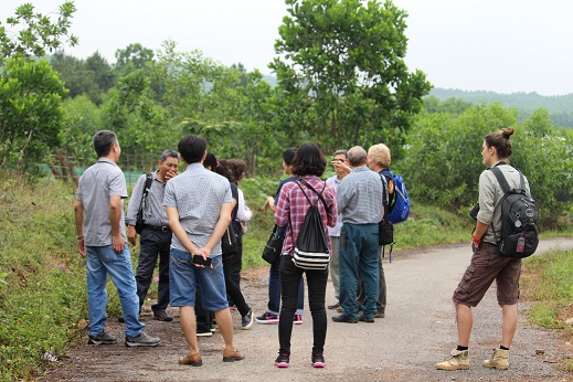 1.Site visit-Conservation Breeding Area