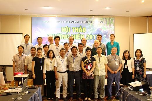 Participants at EP workshop in Dong Hoi May 2017