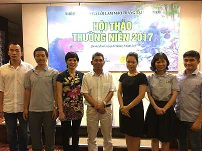 Viet Nature Team at EP workshop in Dong Hoi May 2017