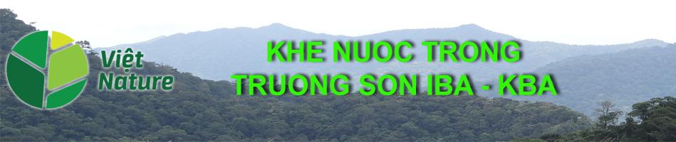 Khe Nuoc Trong – Truong Son IBA – KBA