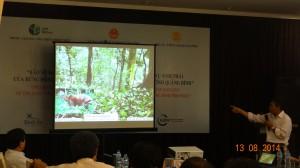 """Hội thảo Khởi động dự án """"Bảo vệ đa dạng sinh học và tăng cường các dịch vụ sinh thái của rừng Động Châu - Khe Nước Trong, huyện Lệ Thủy, tỉnh Quảng Bình"""""""