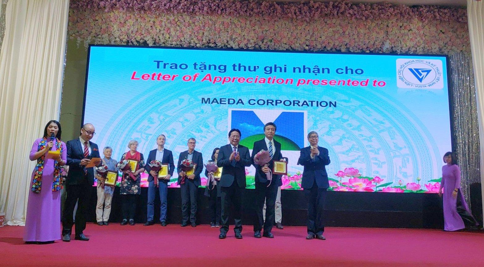 (Tiếng Việt) VUSTA vinh danh Tập đoàn Maeda vì những đóng góp cho hoạt động phục hồi rừng bị nhiễm chất độc da cam tại Quảng Trị